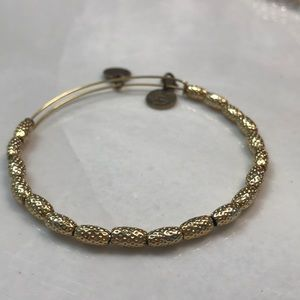 Alex and Ani beaded bracelet bracelet with texture
